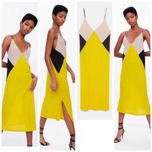 Color Block Dress NWT